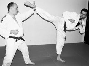 Karate-Sort-Hvid